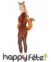 Déguisement d'écureuil pour femme adulte