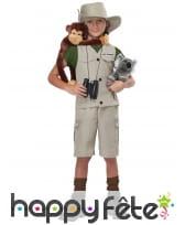 Déguisement d'explorateur pour enfant