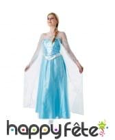 Déguisement de Elsa pour femme adulte