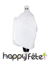 Déguisement de fantôme blanc traditionnel