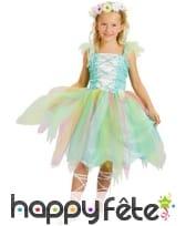 Déguisement de fée multicolore pour fillette