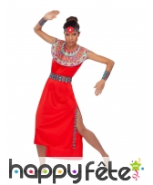 Déguisement de femme Massaï pour adulte