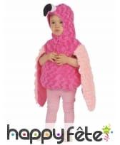 Déguisement de flamant rose en peluche pour enfant, image 1
