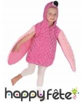 Déguisement de flamant rose en peluche pour enfant, image 2
