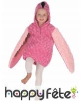 Déguisement de flamant rose en peluche pour enfant, image 4