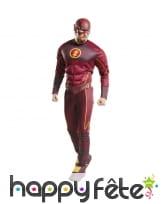 Déguisement de Flash pour adulte, version luxe