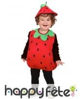 Déguisement de fraise pour bébé