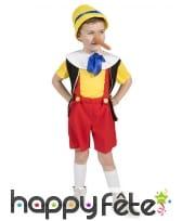 Déguisement de garçon marionnette pour enfant