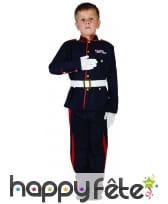 Déguisement de général décoré pour enfant