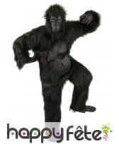 Déguisement de gorille intégral pour adulte
