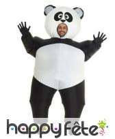Déguisement de gros panda gonflable, image 1