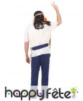 Déguisement de hippie avec pantalon bleu, image 2