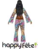 Déguisement de Hippy fleuri pour femme, image 2