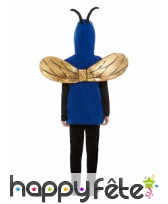Déguisement d'insecte bleu pour enfant, image 1