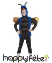 Déguisement d'insecte bleu pour enfant, image 2