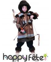Déguisement de inuite pour enfant