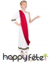 Déguisement de Jules César pour enfant fille