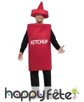 Déguisement de ketchup