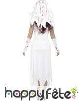 Déguisement de mariée zombie blanche, image 1