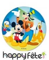 Disque de Mickey et ses amis en azyme de 20 cm