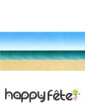 Decor de plage, ciel et ocean