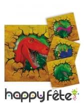 Décoration Dinosaures pour table, image 3
