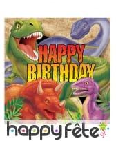 Décorations dinosaure pour table d'anniversaire, image 2