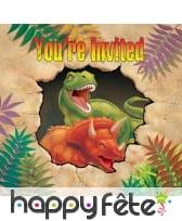 Décorations dinosaure pour table d'anniversaire, image 6