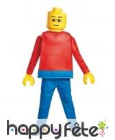 Déguisement de personnage Lego pour enfant