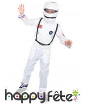 Déguisement de petit astronaute USA