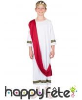Déguisement de petit Jules César
