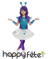 Déguisement de petite princesse Alien, image 1