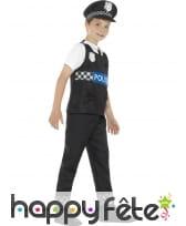 Déguisement de policier Américain pour enfant, image 2