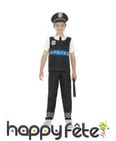 Déguisement de policier Américain pour enfant