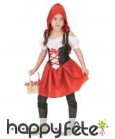 Déguisement du petit chaperon rouge pour fillette, image 1