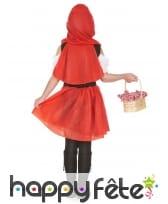 Déguisement du petit chaperon rouge pour fillette, image 2