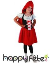 Déguisement du petit chaperon rouge pour fillette, image 3