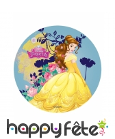 Disque des princesses Disney de 14,5 cm en azyme, image 2