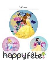 Disque des princesses Disney de 14,5 cm en azyme