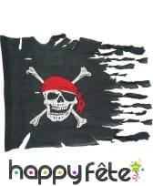 Drapeau de pirate déchiré