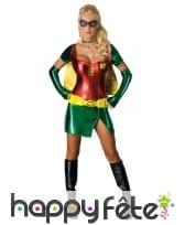 Déguisement de Robin pour femme, Batman