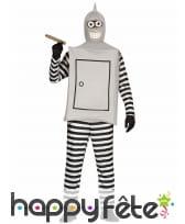 Déguisement de robot voleur pour adulte
