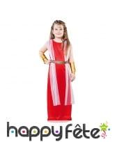 Déguisement de romaine pour enfant fille