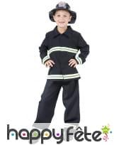 Déguisement de sapeur pompier pour enfant