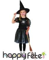 Déguisement de sorcière étoilée pour enfant, image 3