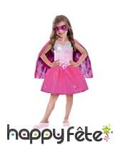 Déguisement de super barbie pour enfant