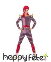 Déguisement de super héros David Bowie