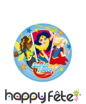 Disque DC Super Hero Girls en azyme de 20cm