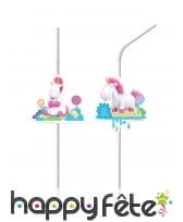 Déco de table d'anniversaire Minions et la licorne, image 4