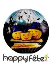 Déco de table d'Halloween citrouilles démoniaques, image 2